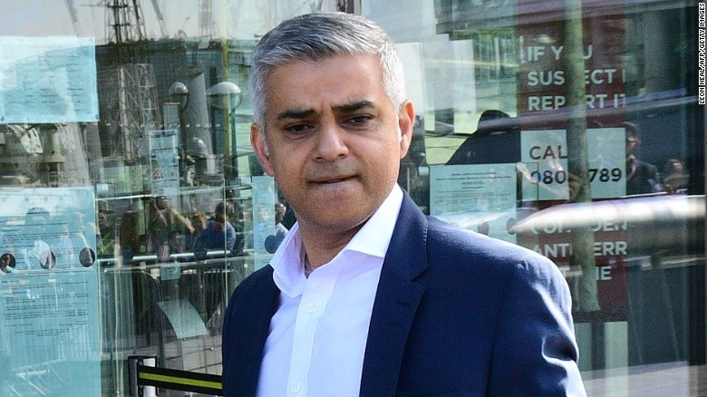 Trump slammed by London mayor