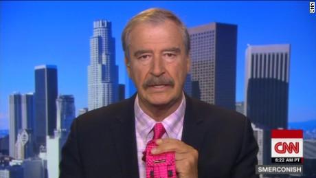 Vicente Fox Trump ties Smerconish_00002408