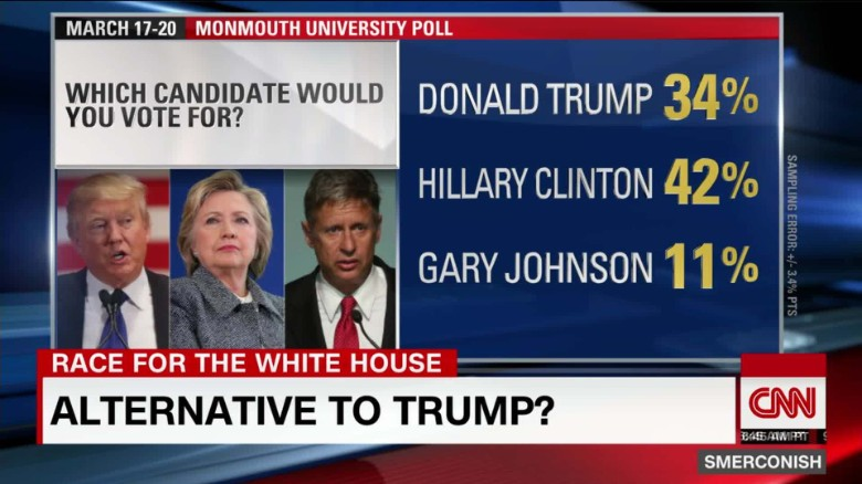 Gary Johnson: GOP Trump Alternative?