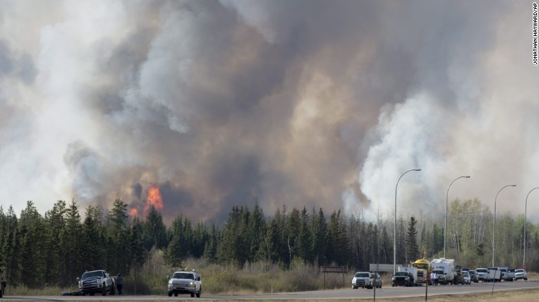Canada wildfire may double in size
