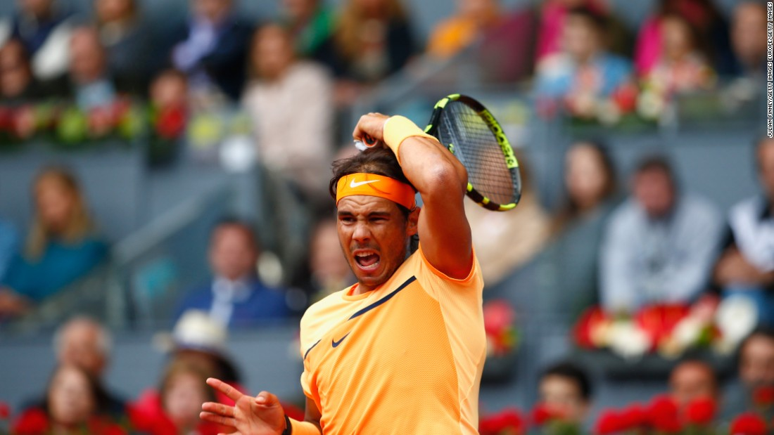 The Spaniard had defeated Murray in the semifinal of the Monte Carlo Masters last month.