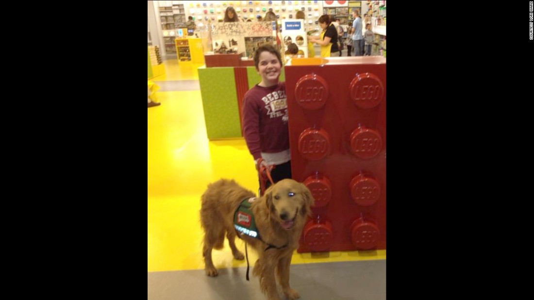 Seph and Presley go everywhere together, from school to even the Lego store.