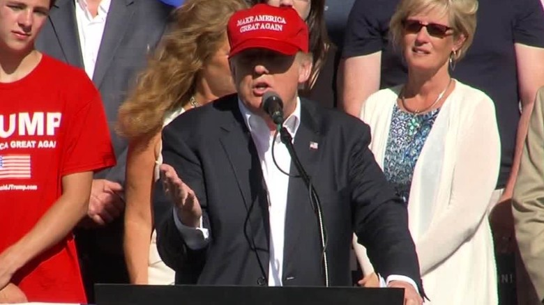 Trump: 'Hillary Clinton wants to take your guns away'