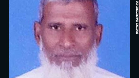 Mohammad Shahidullah was hacked to death and found in Tanore, Bangladesh.