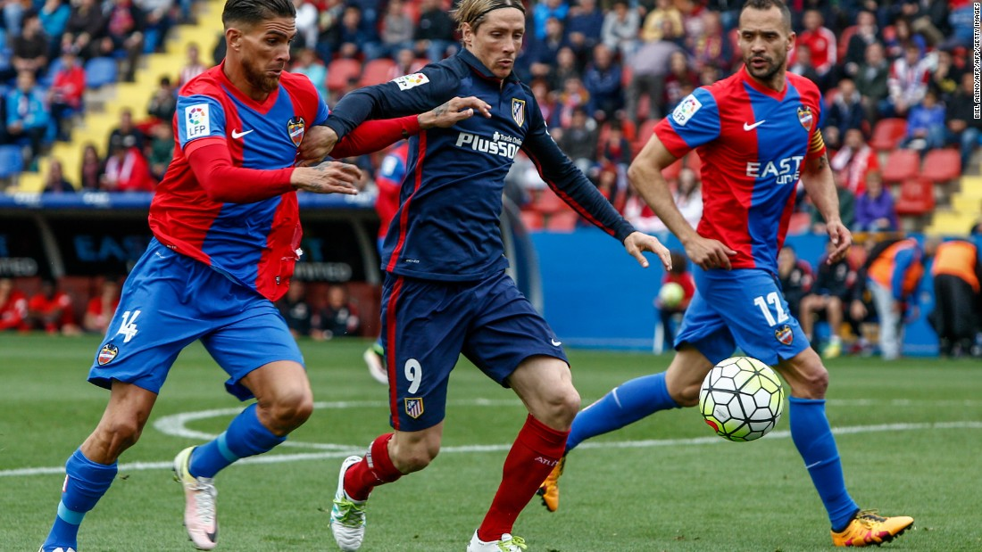 However, Atleti would eventually succumb 2-1 to its already relegated opponent.