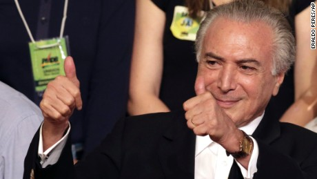 Michel Temer: 5 things to know about Brazil's interim leader
