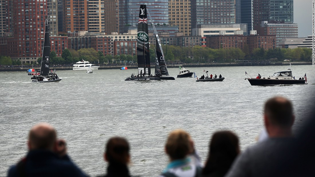 ORACLE Team USA finished second, followed by Groupama Team France, SoftBank Team Japan, Land Rover BAR  and Artemis Racing.