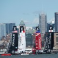 Americas cup sailing NY sunday
