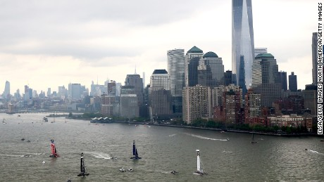 The America's Cup returned to New York for the first time since 1920 with the recent Louis Vuitton World Series.