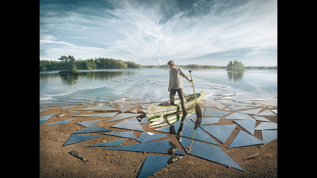 Swedish artist Erik Johansson is a master photo manipulator.