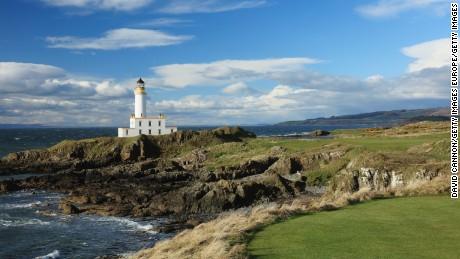 New 9th hole, Trump Turnberry, Scotland.