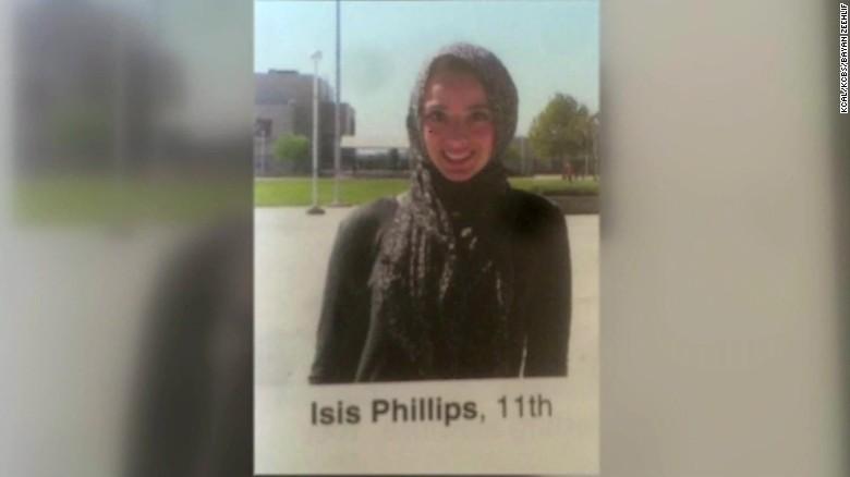 Muslim girl called Isis in yearbook pkg_00000000