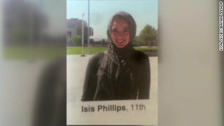 Muslim girl called Isis in yearbook pkg_00000000