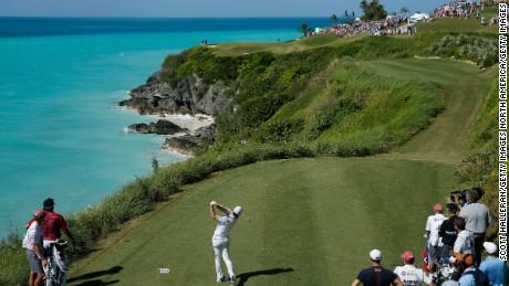 16th hole, Port Royal, Bermuda.