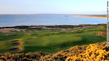 10th hole, Royal Dornoch, Scotland.