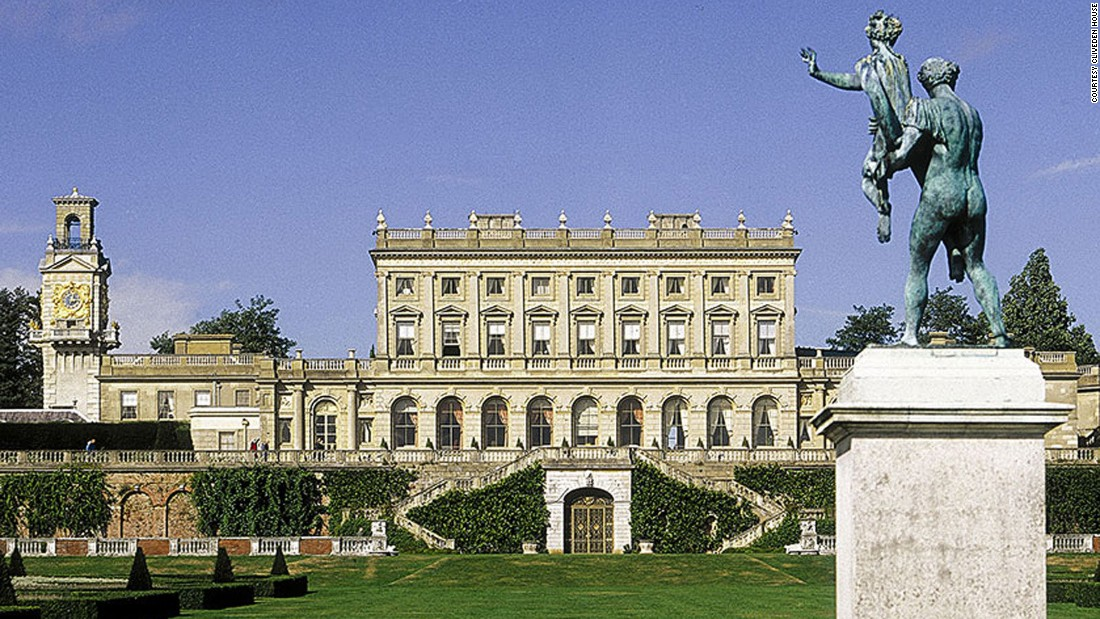 Built in the 1850s, Cliveden House feels more like a grand private home than a hotel. It has just 38 rooms and suites, each named after a figure from the house's past.
