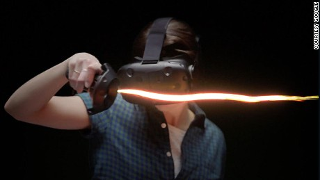 Step into virtual reality art with Google's Tilt Brush