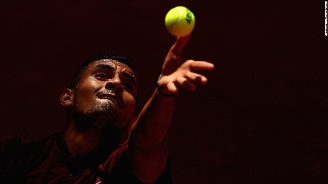 Kyrgios said after the defeat to Murray that he didn't love tennis and said later in the season he planned on quitting tennis at the age of 27.