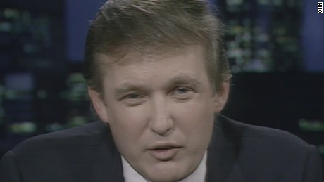 Donald Trump in 1987: 'I don't want to be president'
