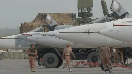 Russian military presence still evident in Syria