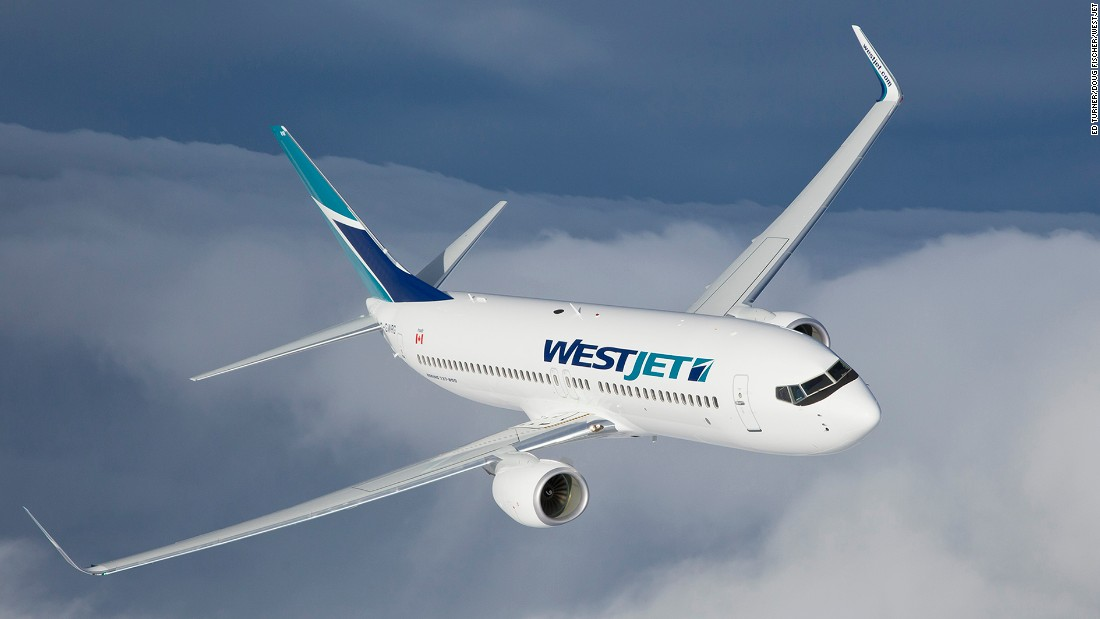 Canadian-based<strong> WestJet</strong> came in third place in J.D. Power's rankings of low-cost carriers.