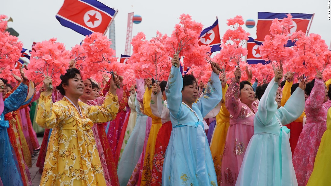 During the Congress, North Korean leader Kim Jong Un assumed the title of Chairman of the Korean Workers' Party.