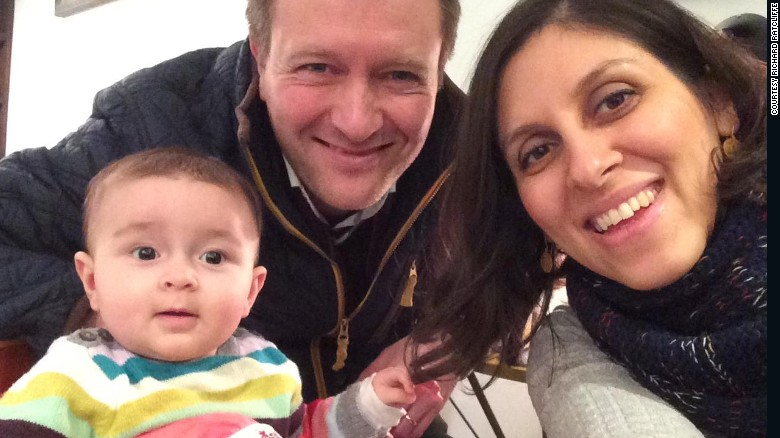 Husband: Iran detained wife without charges