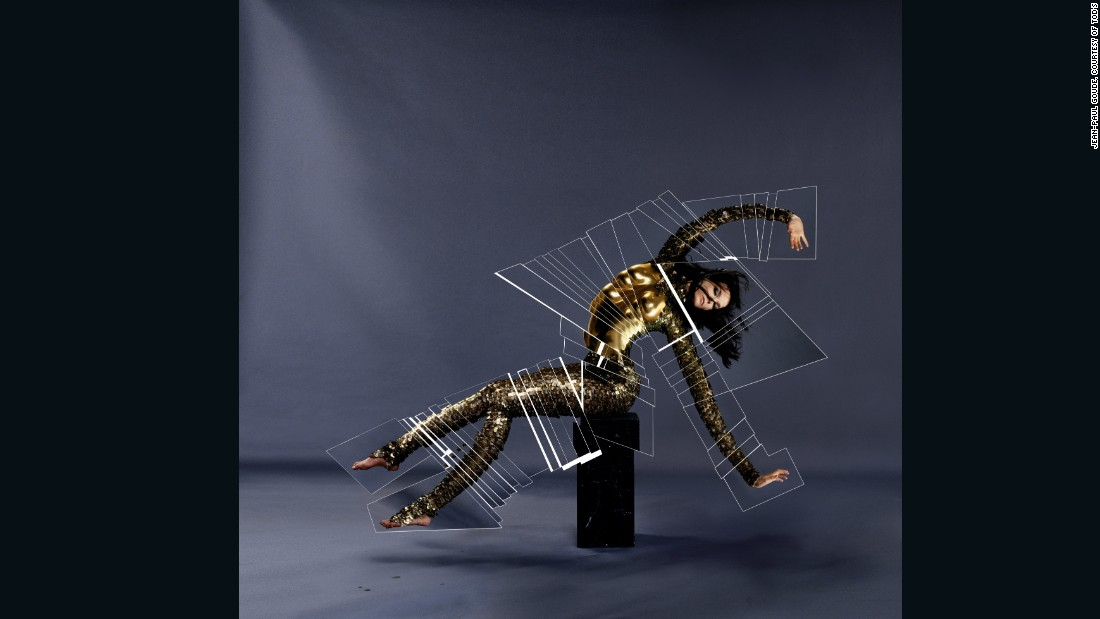Decoupe 2 Snake 6 Finale, by Jean Paul Goude