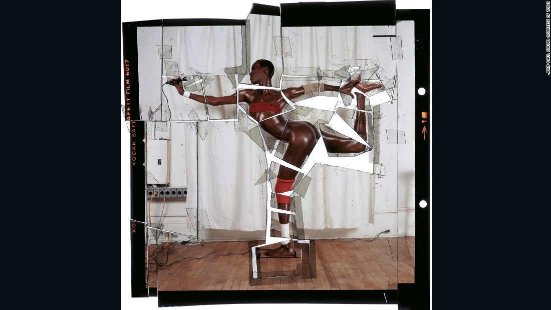 Grace Revised And Updated, by Jean Paul Goude, New York, 1978