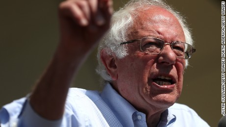 Bernie Sanders, Democratic establishment battle boils over