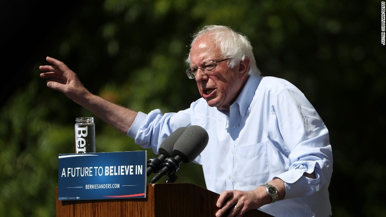 Democratic leaders, Sanders battle boils over