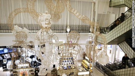 "In January 2016, Ai Weiwei displayed his ""Child's Play"" art collection in Le Bon Marche."