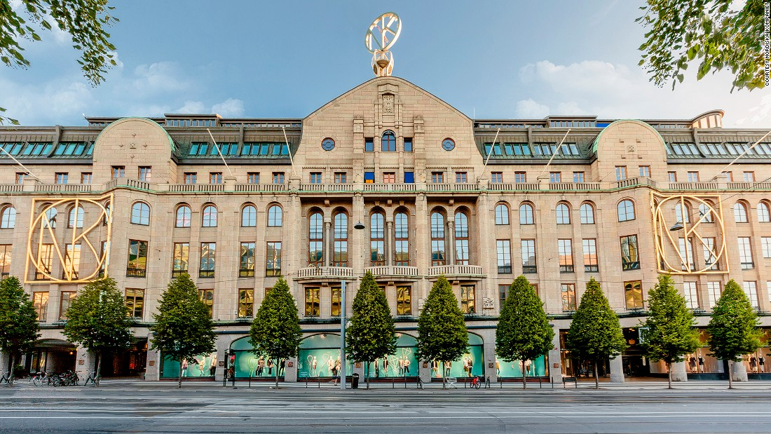 Sweden's first luxury department store is also a pioneer in the country's fashion and culture scenes. It was the first place to sell Barbie dolls and jeans in Sweden.