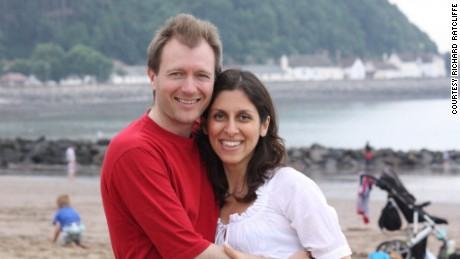 Richard Ratcliffe and wife Nazanin Zaghari-Ratcliffe.