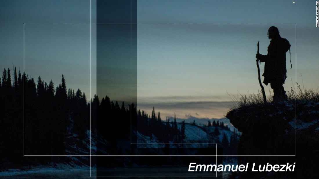 "Mexican cinematographer Emmanuel Lubezki is the most in-demand man behind the camera right now. On a hot streak of three back-to-back Academy Awards he was the cinematographer who recreated weightlessness in ""Gravity"", tricked the mind into believing ""Birdman"" was shot in one take and captured the majesty of Midwest America in ""The Revenant"". For the latter Lubezki shot predominantly in the magic hours after dawn and before dusk, painting a dream-like impression of the hostile frontier which evaporated whenever the camera found itself inches from DiCaprio's face, his breath steaming up the lens. Rumors abound that Lubezki's new project ""Weightless"", his latest collaboration with Terrence Malick, could be on its way to Cannes."