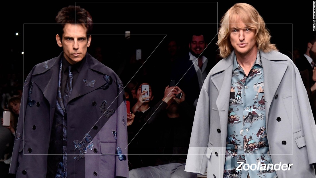 "No film has so successfully aped the fashion industry as ""Zoolander"". Whether it was the inability of supermodels to turn in both directions or the vacuous nature of their lifestyles, Ben Stiller's moronic creation found resonance in a community not above self-ridicule. In the original the late, great David Bowie stood in as a referee for an underground catwalk battle, Milla Jovovich became a villain's enforcer and Donatella Versace, Claudia Schiffer and Tyson Beckford, amongst countless others, showed their faces. By the time a sequel was announced, with Ben Stiller and Owen Wilson appearing in character at Paris Fashion Week 2015, the industry was eating out of the palm of their hands, begging for a second helping of satire."