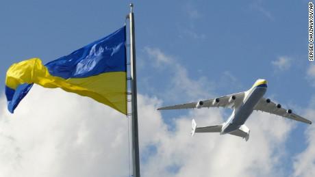 Ukrainian Antonov An-225 Mriya, Friday, Aug. 21, 2009.