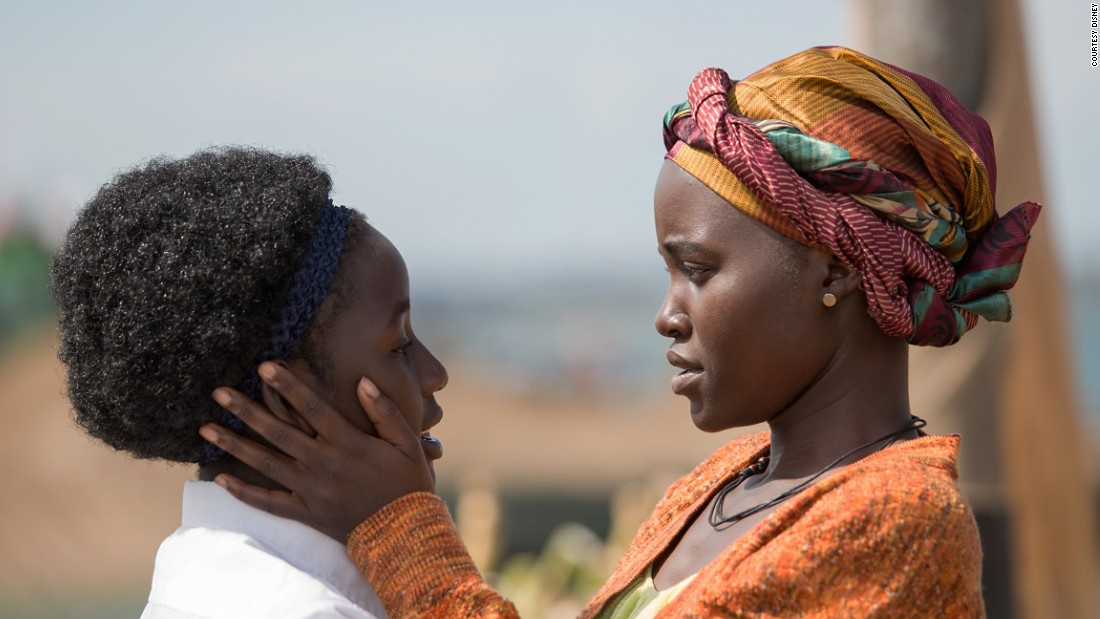 "Lupita Nyong'o stars in the triumphant true story ""Queen of Katwe"" directed by Mira Nair."