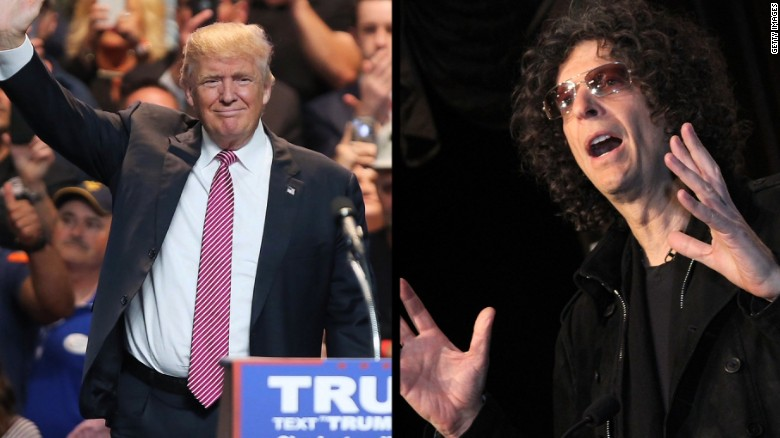 Donald Trump regrets Howard Stern interviews?
