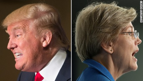 Elizabeth Warren: Trump a 'thin-skinned, racist bully'