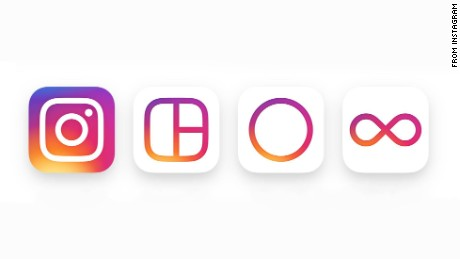 The new Instagram logos