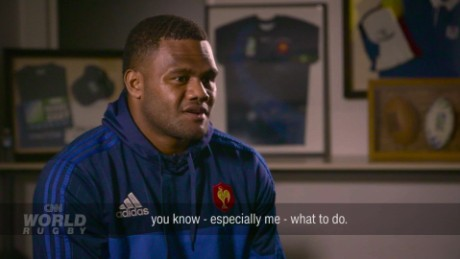 The Fijian who plays rugby for France