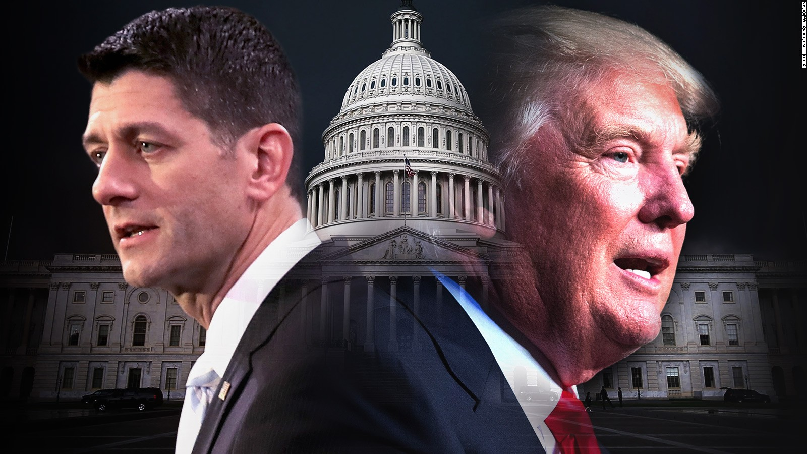 Image result for trump ryan