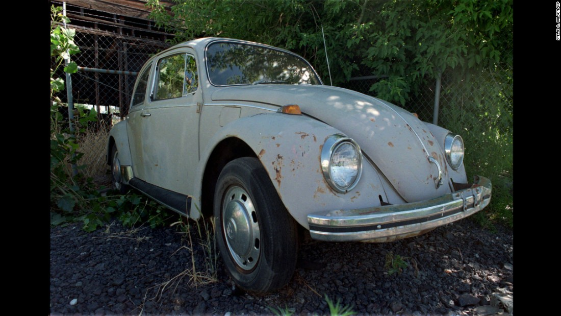 This is the Volkswagen Beetle police say serial killer Ted Bundy used with some of his victims in the 1970s. Bundy, who confessed to killing more than 30 women and girls, was executed in Florida in 1989 after being convicted of killing three people there. The vehicle was in Washington at the National Museum of Crime and Punishment before the museum closed last year.