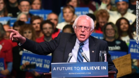 The math doesn't favor Bernie Sanders, despite wins