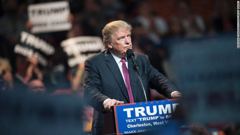 Donald Trump reveals his 2015 income