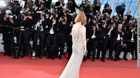 "CANNES, FRANCE - MAY 12:  Jessica Chastain attends the ""Money Monster"" premiere during the 69th annual Cannes Film Festival at the Palais des Festivals on May 12, 2016 in Cannes, France.  (Photo by Pascal Le Segretain/Getty Images)"