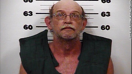 Gary Simpson is being held at the Hawkins County, Tennessee, Jail.