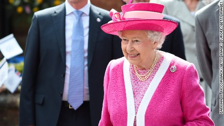 It was Queen Elizabeth II's lucky day as she scooped the $70 top prize after her horse won at the Royal Windsor Horse Show