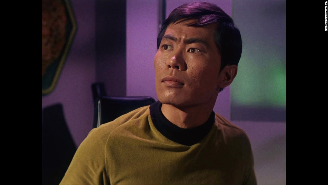"George Takei played Hikaru Sulu in the original ""Star Trek"" series."